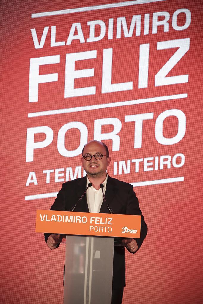Feliz acusa Moreira de aldrabice. Foto: Manuel Fernando Araujo/Lusa