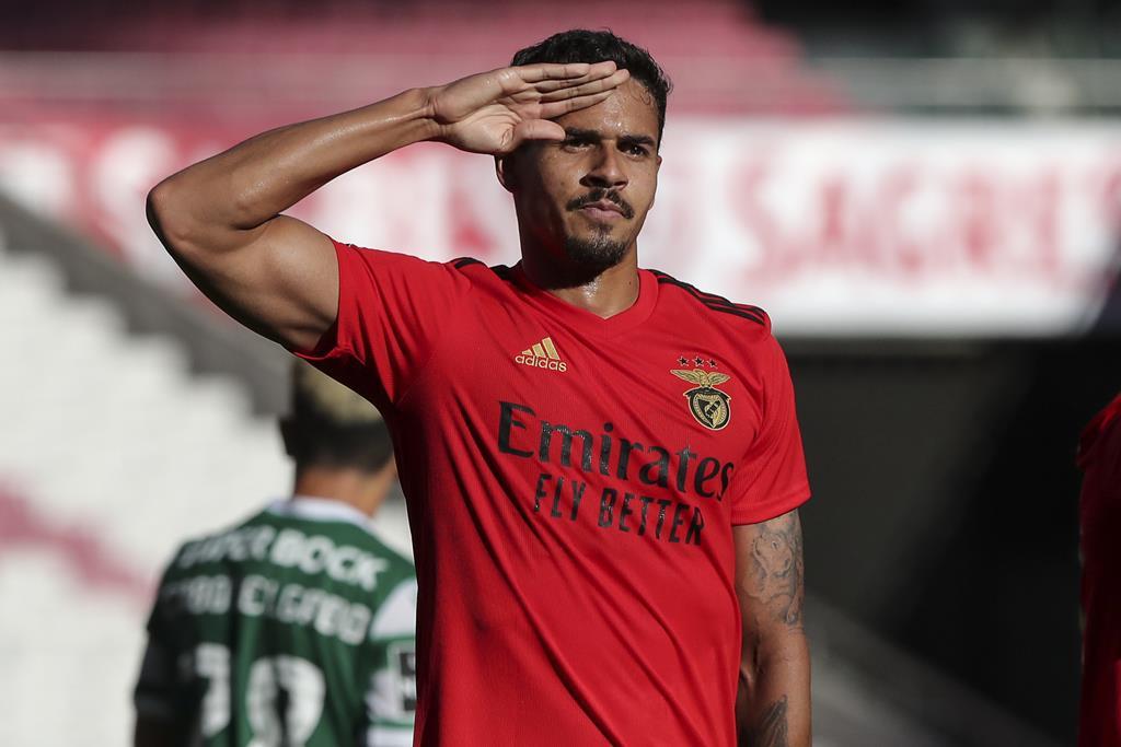 Lucas Veríssimo chegou esta época ao Benfica. Foto: Miguel A. Lopes/Lusa