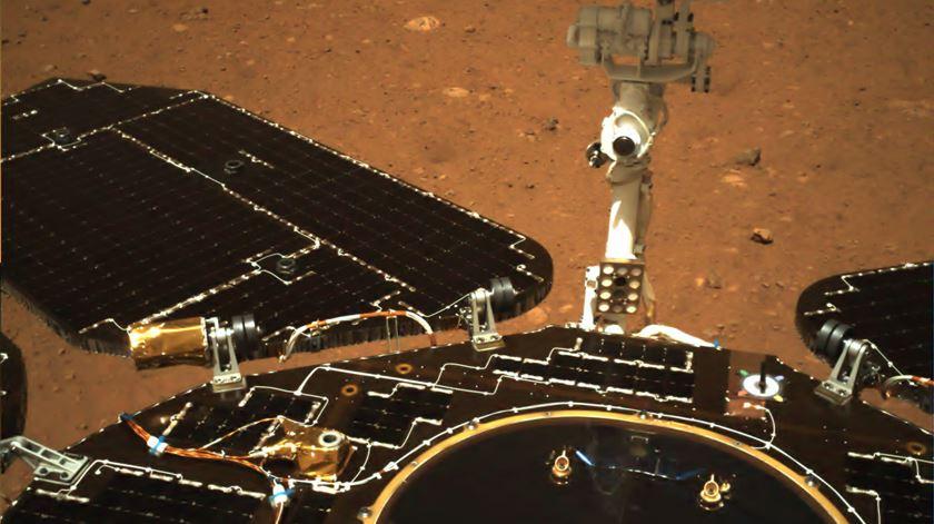 Foto: Agência Espacial da China/EPA