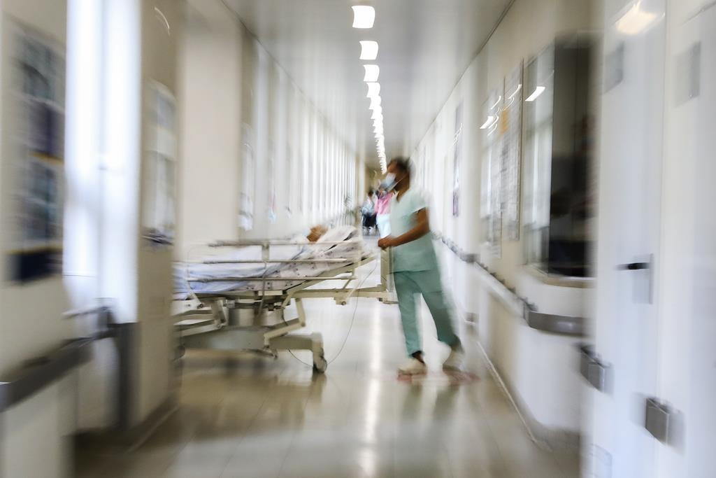A mulher em causa, que não tinha sido vacinada, deu entrada no centro hospitalar em março, depois de ter testado positivo ao coronavírus. Foto: João Relvas/Lusa