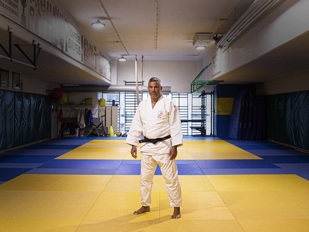 Pedro Soares foi atleta e, agora, é treinador. Foto: Sofia Freitas Moreira/RR