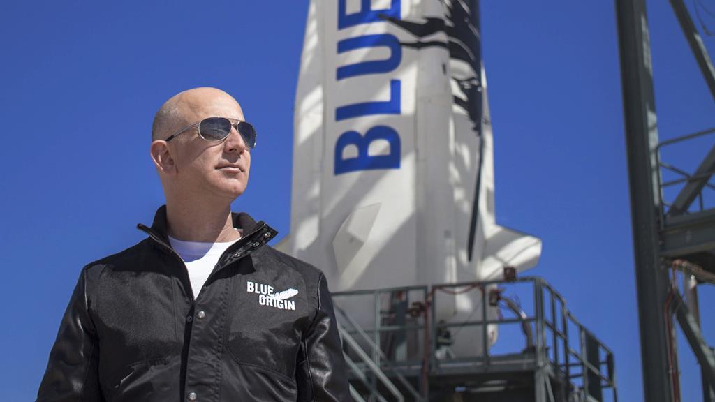 Foto: Blue Origin Handout/EPA