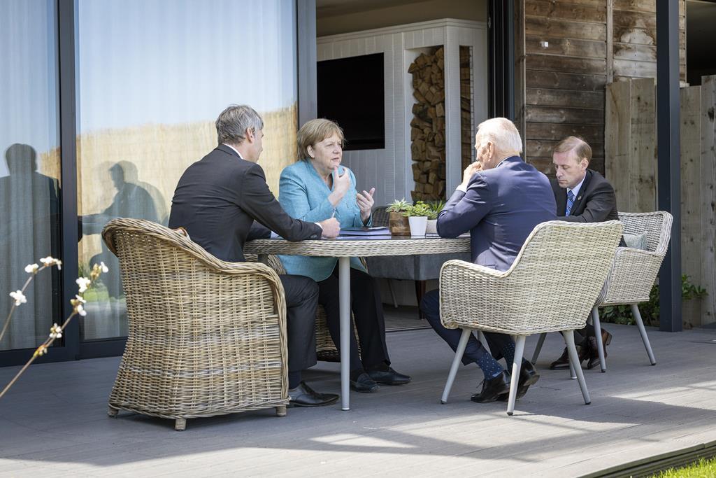 Cimeira G7 2021 em Cornwall. Foto: Guido Bergmann/EPA
