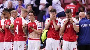 Seleção portuguesa solidária com Eriksen
