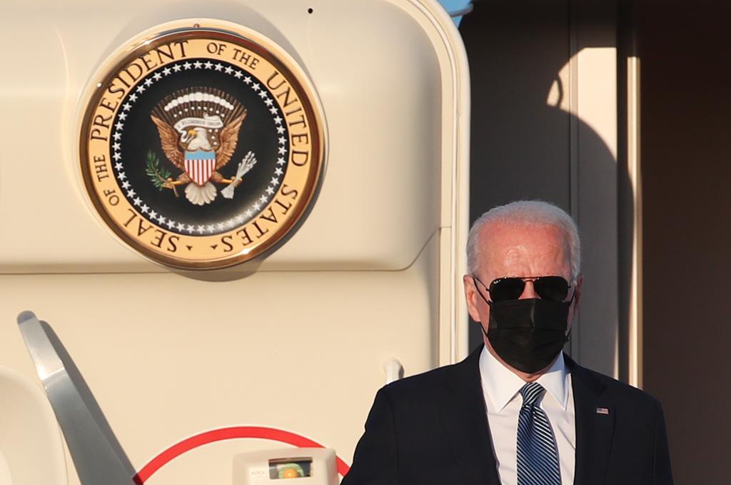 Joe Biden Foto: Yves Herman/EPA