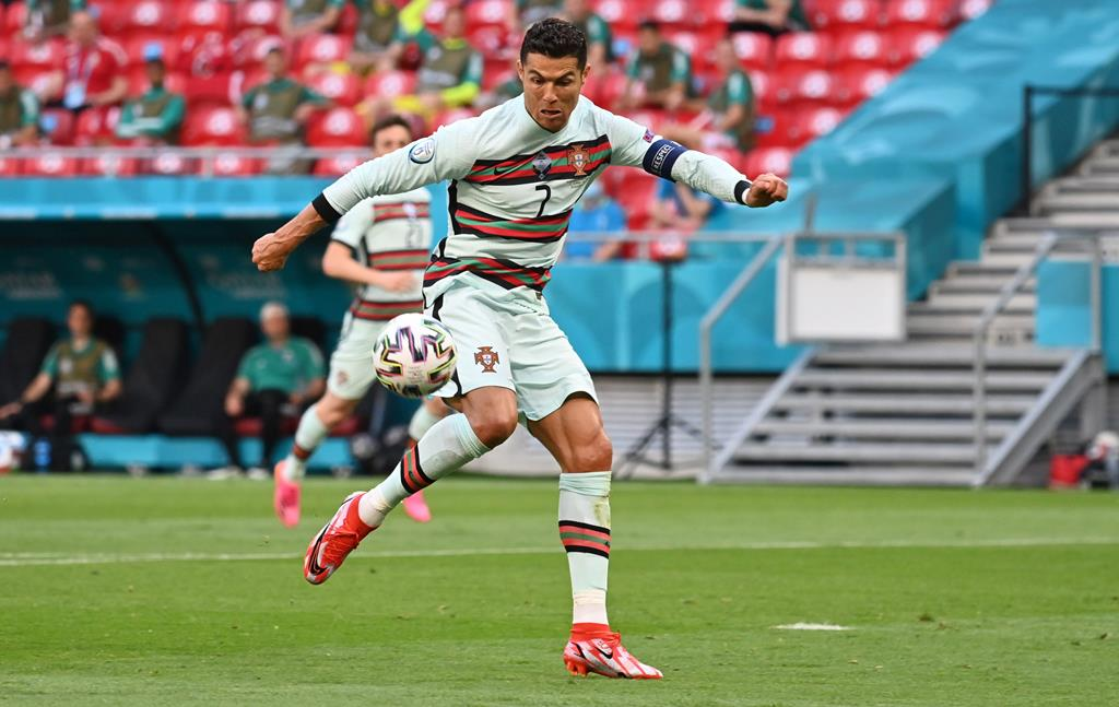 Cristiano Ronaldo Euro 2020 Hungria vs Portugal. Foto: Tibor Illyes/Pool/EPA