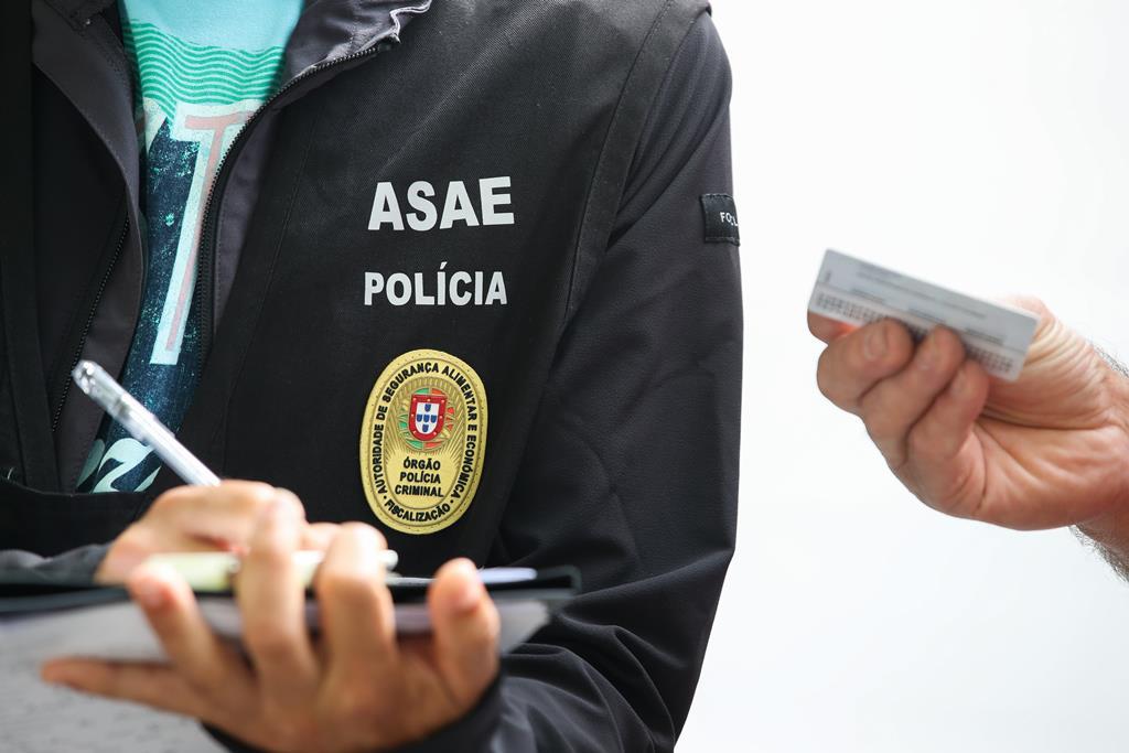 ASAE - Autoridade de Segurança Alimentar e Económica Foto: Paulo Novais/Lusa