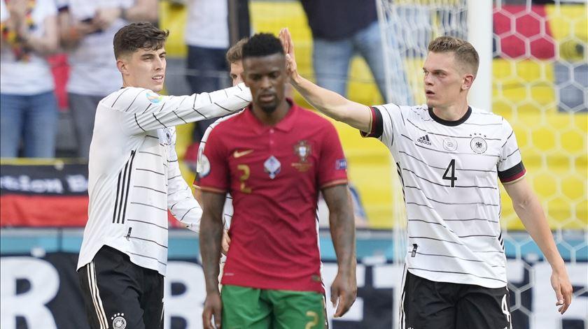 Nélson Semedo foi um dos jogadores mais criticados após a derrota com a Alemanha. Foto: Hugo Dlegado/Lusa