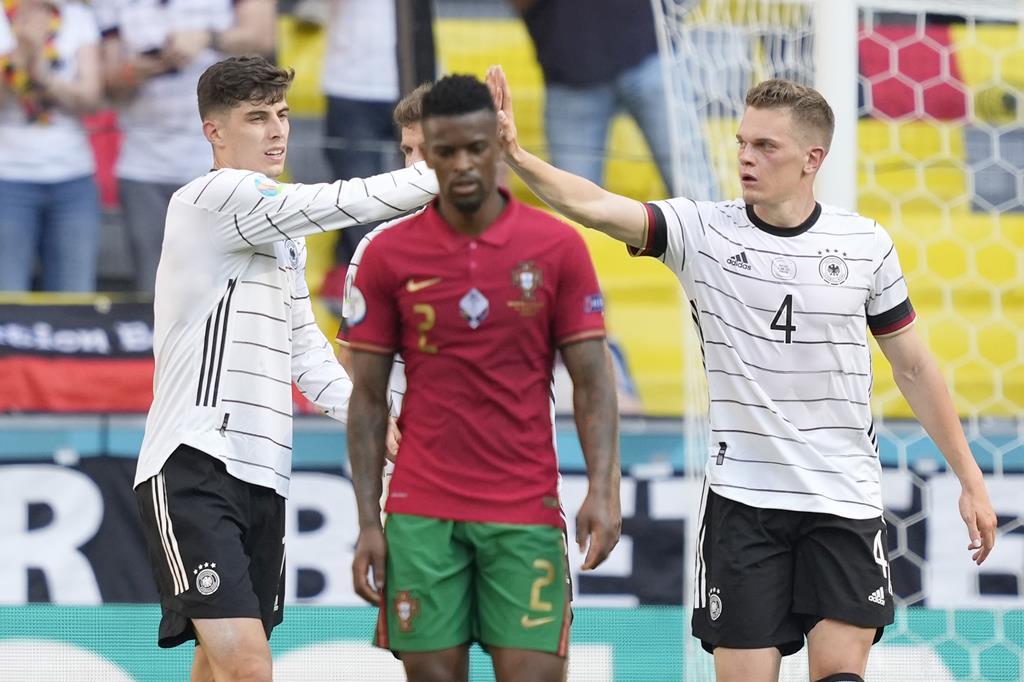 Fragilidades defensivas ficaram à vista no jogo com a Alemanha e Nélson Semedo foi um dos mais expostos. Foto: Hugo Delgado/Lusa