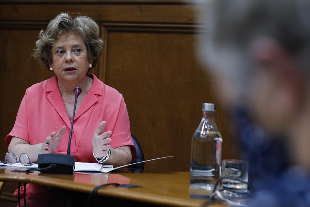 Maria Lúcia Amaral. Foto: António Cotrim/Lusa