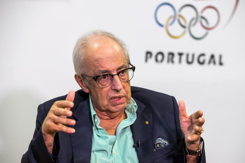 José Manuel Constantino vê o mesmo entusiasmo na Aldeia Olímpica. Foto: José Sena Goulão/Lusa