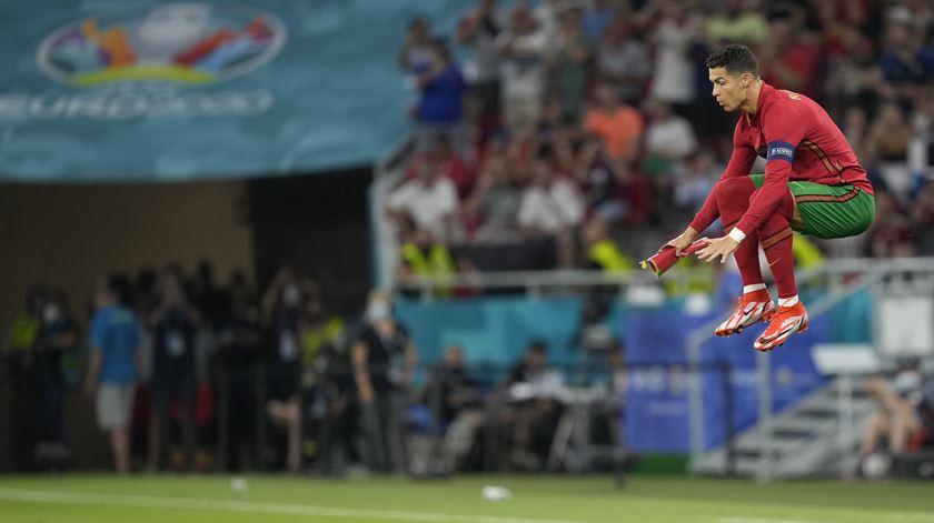 Portugal empatou e, no final, não ganhou ninguém, mas ambos ficaram a ganhar. Foto: Hugo Delgado/EPA