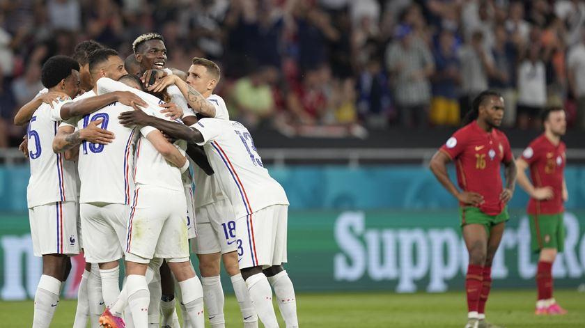França voltou a marcar logo após o intervalo. Foto: Hugo Delgado/Lusa