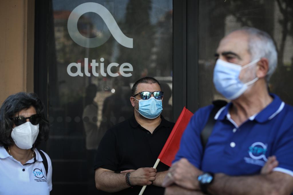A Altice anunciou a contratação de 1.100 pessoas na mesma altura em que tem em curso um processo de despedimento coletivo. Foto: Rodrigo Antunes/Lusa [Arquivo]