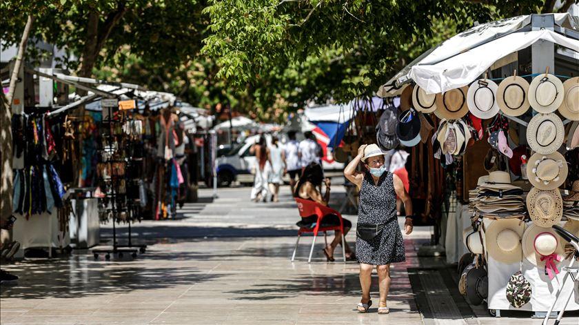Com 17,2% de desempregados no total da população ativa residente, Albufeira é o concelho onde este indicador atinge o valor mais elevado, a nível nacional. Foto: Luís Forra/ Lusa