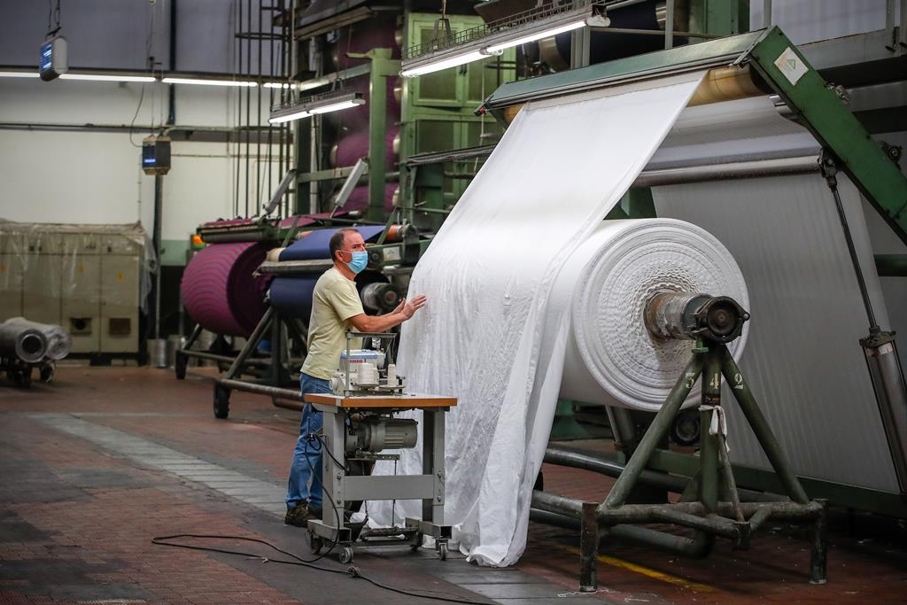 Fábrica de empresa têxtil Foto: José Coelho/Lusa