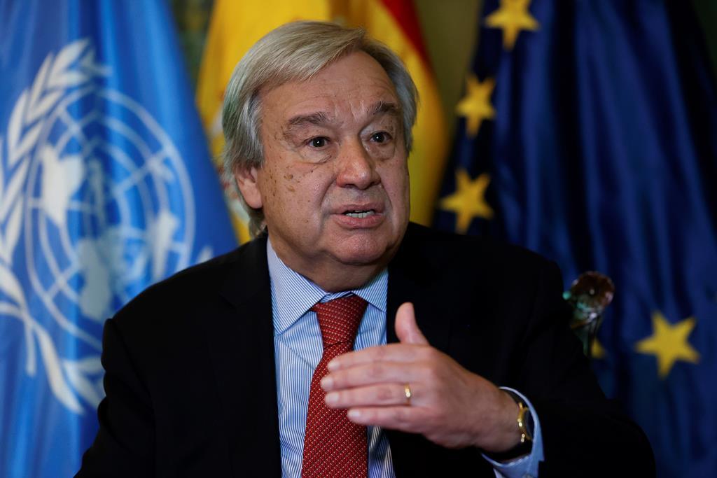 António Guterres Foto: Chema Moya/EPA