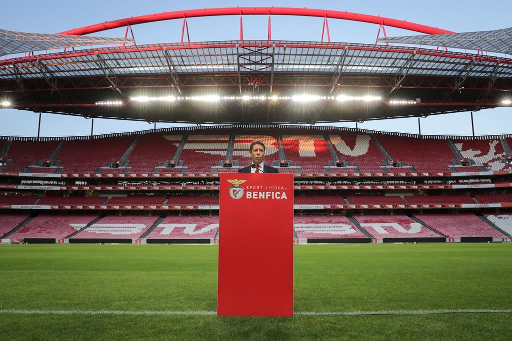 Rui Costa é o novo presidente do Benfica, pelo menos para já. Foto: Miguel A. Lopes/Lusa