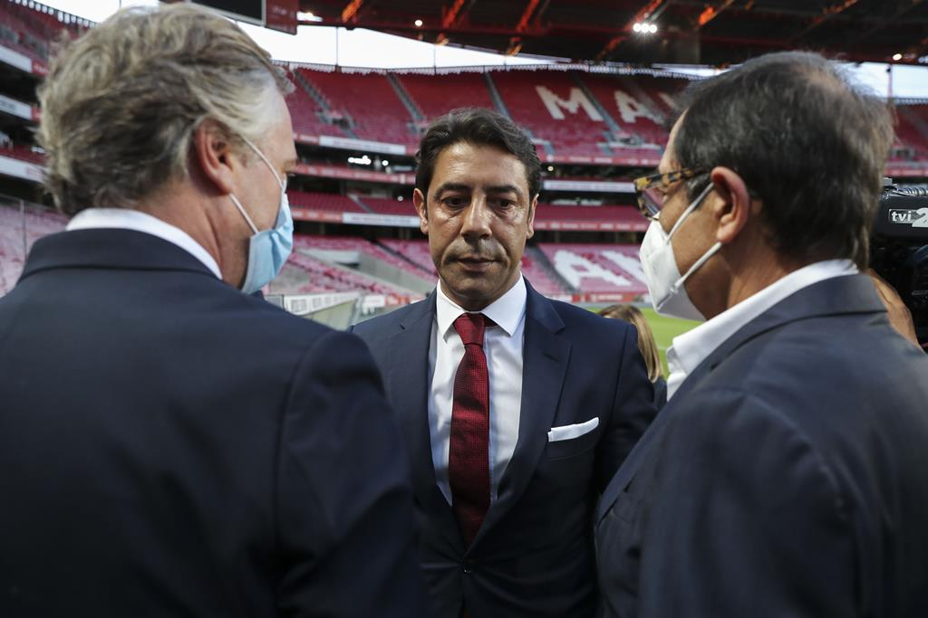 Rui Costa assume presidência do clube e da SAD do Benfica. Foto: Miguel A. Lopes/Lusa