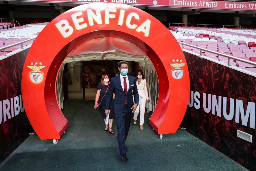 Rui Costa assumiu presidência do Benfica. Foto: Miguel A. Lopes/Lusa