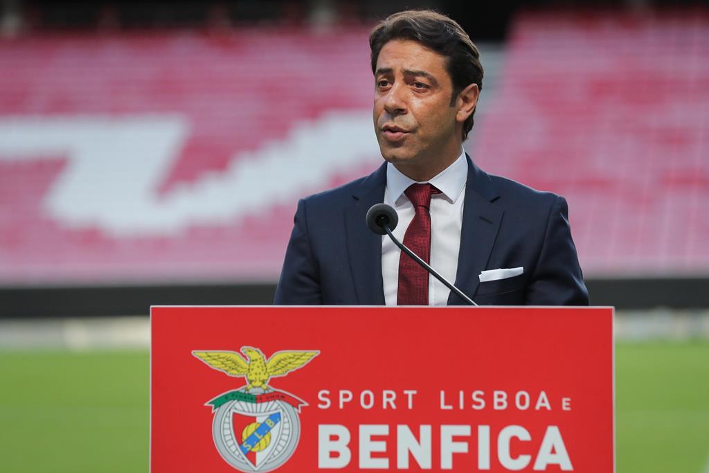 Rui Costa é o novo presidente do Benfica. Foto: Miguel A. Lopes/EPA