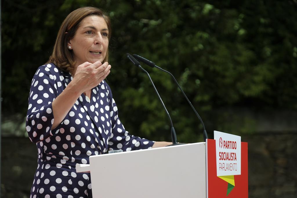 Ana Catarina Mendes, líder parlamentar do PS. Foto: Arménio Belo/Lusa