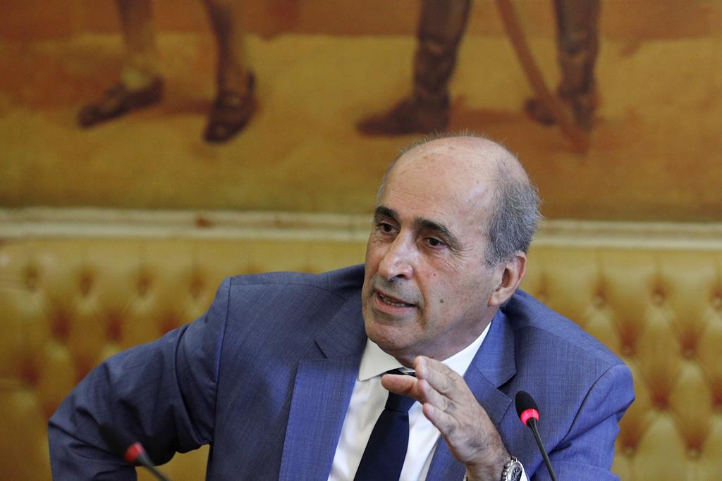 Fernando Anastácio, relator da Comissão Eventual de Inquérito Parlamentar às perdas registadas pelo Novo Banco. Foto: António Cotrim/Lusa