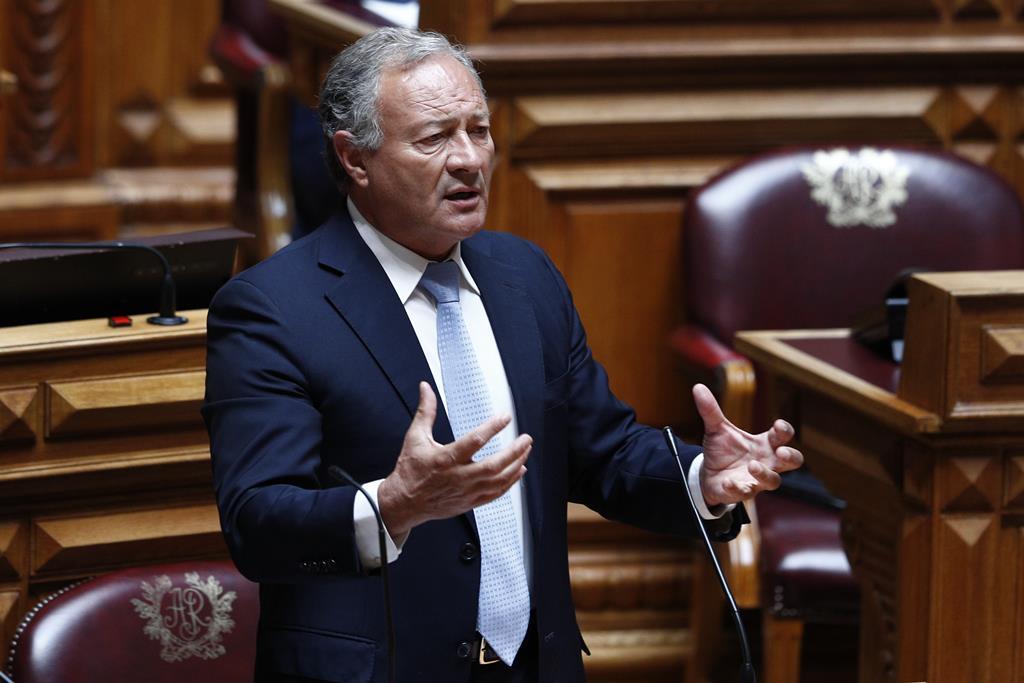 Vice-presidente do PSD, Adão e Silva, substitui Rui Rio no debate do estado da nação. Foto: António Cotrim/Lusa
