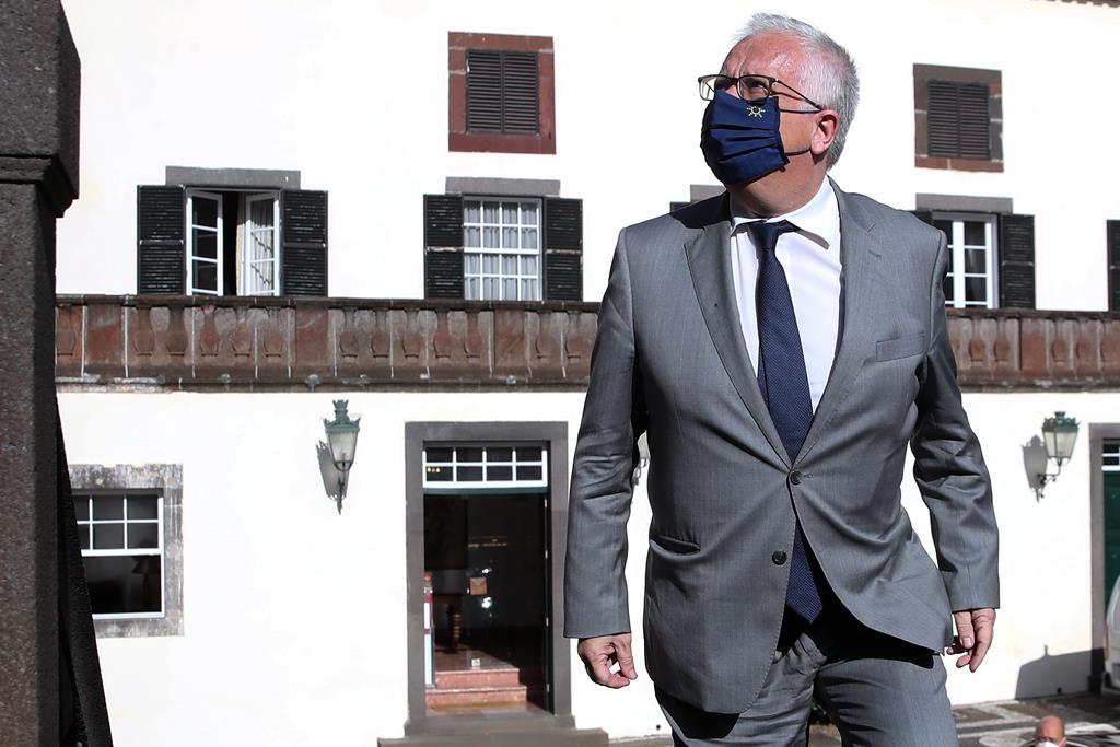 Eduardo Cabrita no 12º aniversário do Comando Territorial da Madeira da GNR. Foto: Homem De Gouveia/Lusa