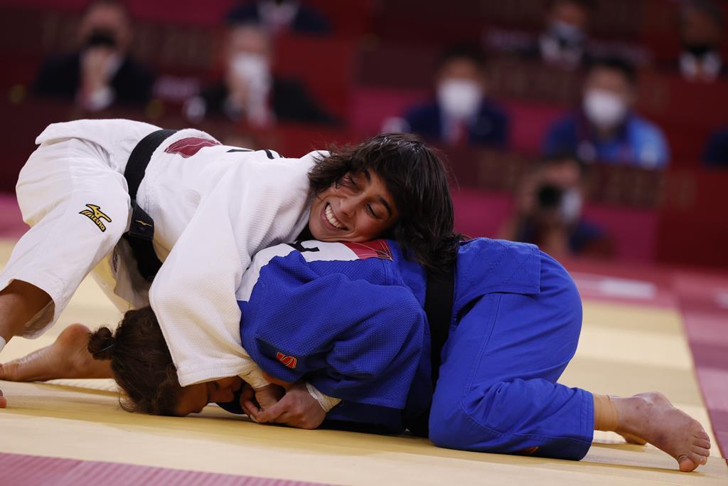 Catarina Costa esteve perto da medalha de bronze. Foto: Jeon Heon-kyun/EPA