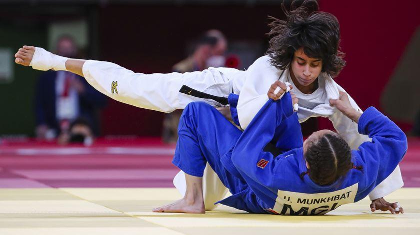 Diploma olímpico para Catarina Costa na sua estreia nos jogos. Foto: José Coelho/Lusa