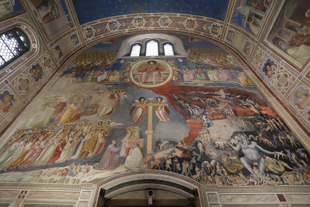 Cappella degli Scrovegni, em Pádua. Foto: Nicola Fossella/EPA