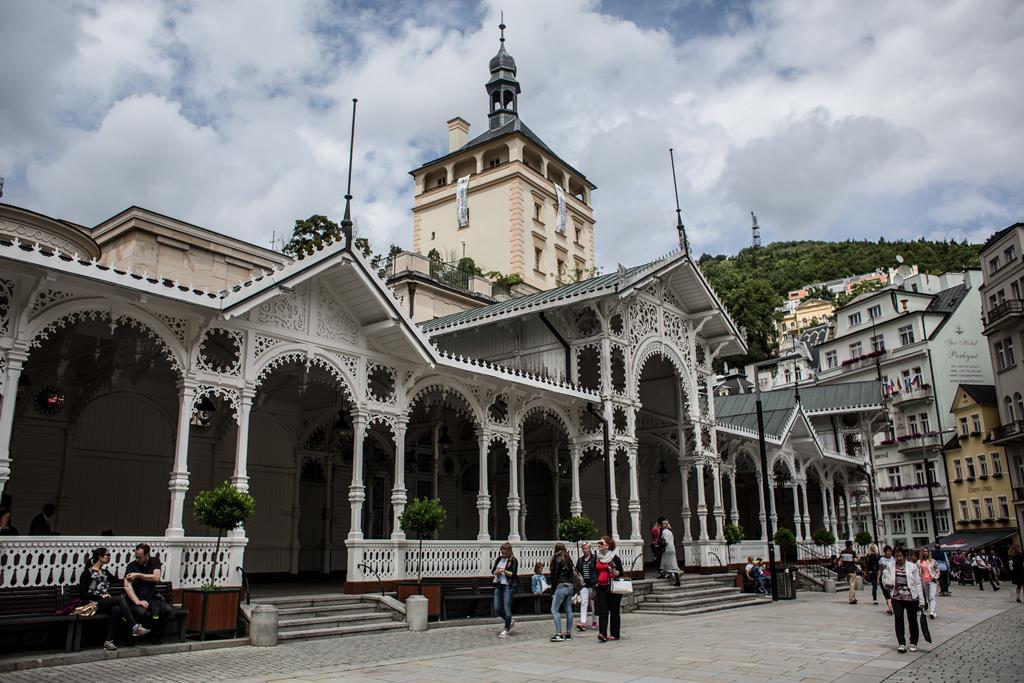 Cidade termal de Karlovy Vary. Foto: Martin Divisek/EPA