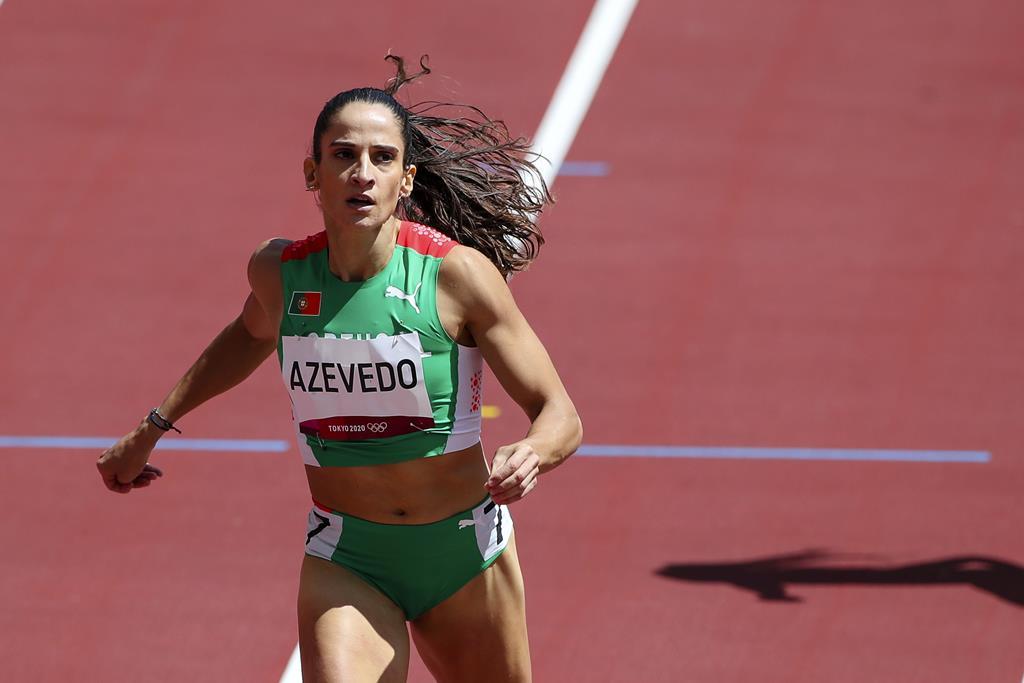 Cátia Azevedo foi eliminada nas meias-finais dos 400 metros Foto: José Coelho/Lusa