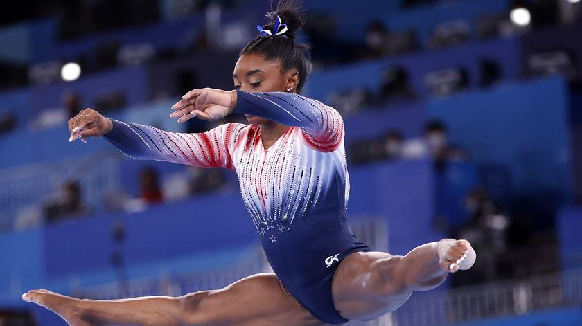 Tóquio 2020. Simone Biles regressa à competição com medalha de bronze