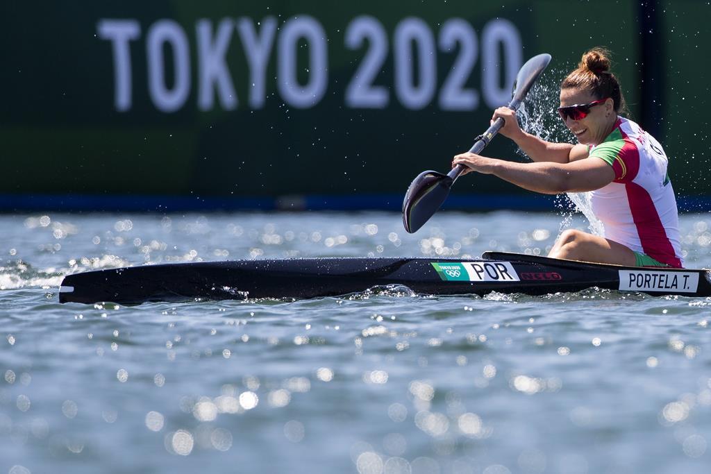 Teresa Portela vai disputar um lugar na final de K1 500 metros. Foto: José Coelho/Lusa