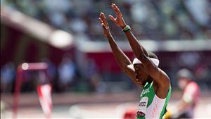 """""""Enormíssimo motivo de orgulho"""". Federação de Atletismo destaca ouro de Pichardo"""