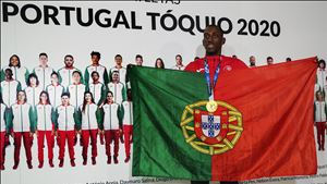 """Pichardo recebido em Lisboa: """"Não vou ficar por aqui, vou trabalhar para conseguir mais medalhas"""""""