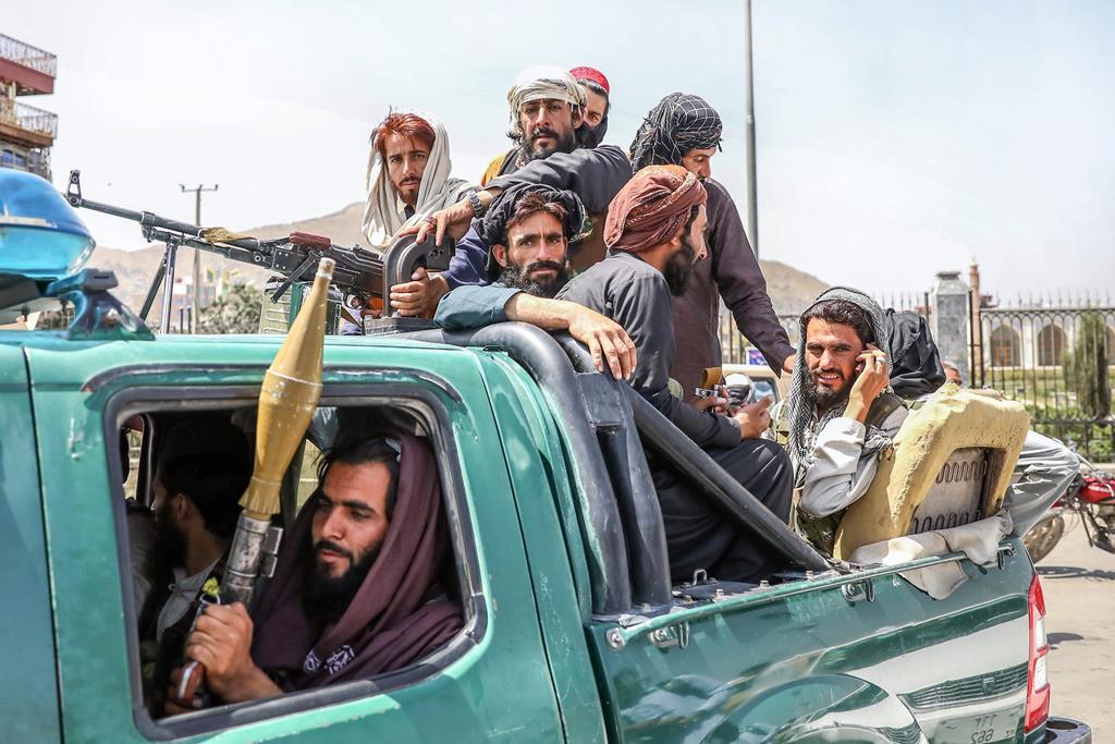 Talibãs Foto: Stringer/EPA