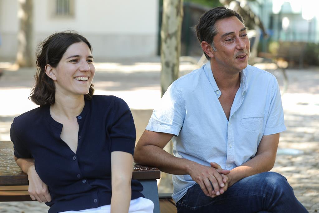 Maureen Fazendeiro e Miguel Gomes. Foto: Miguel A. Lopes/Lusa