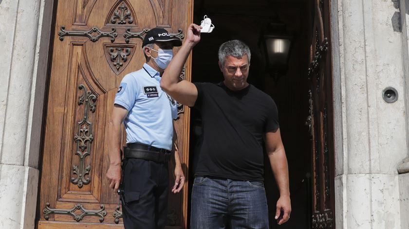 Juiz negacionista Rui Fonseca e Castro foi suspenso de funções em março. Foto: Tiago Petinga/Lusa