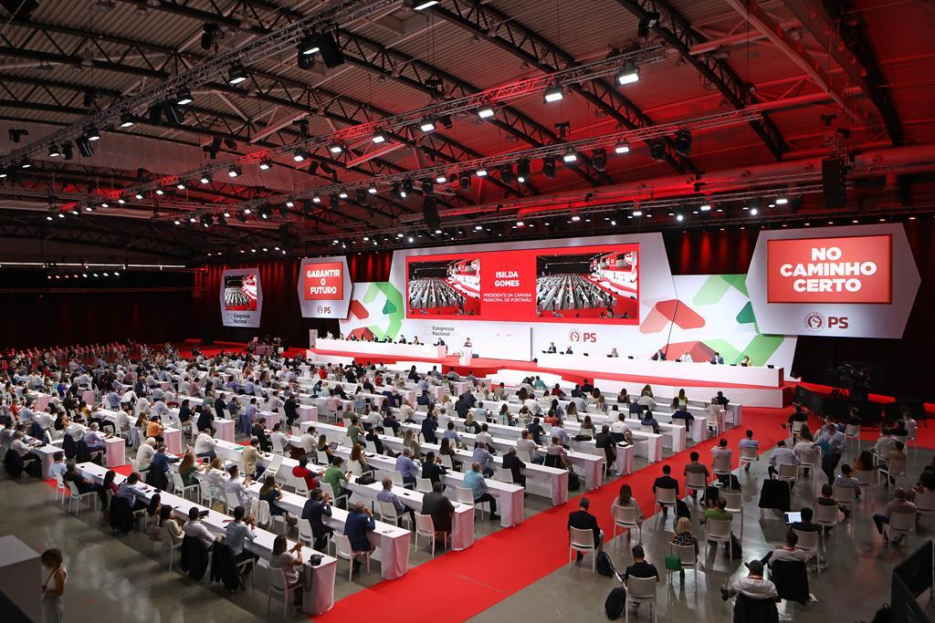 Congresso do PS, em Portimão Foto: António Pedro Santos/Lusa