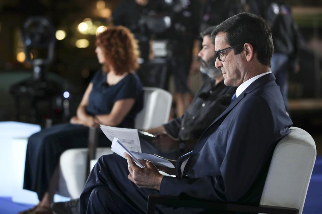 Debate televisivo com candidatos à Câmara Municipal do Porto. Foto: Estela Silva/Lusa