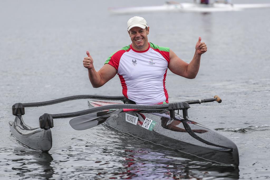 Norberto Mourão foi medalha de bronze nos Jogos Olímpicos. Foto: Miguel A. Lopes/Lusa