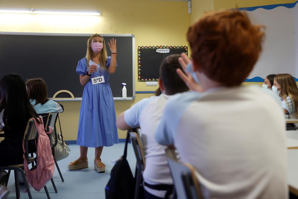 aulas Foto: Juan Carlos Hidalgo/EPA