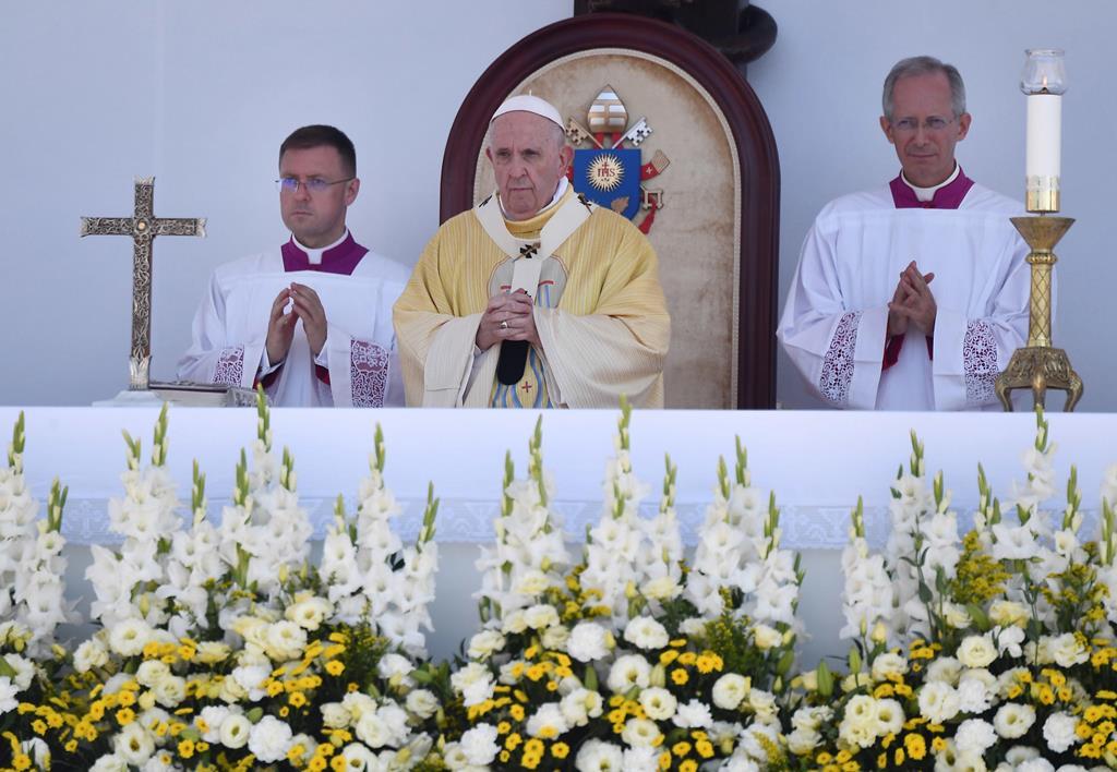 Passagem do Papa Francisco por Budapeste Foto: Luca Zennaro/EPA