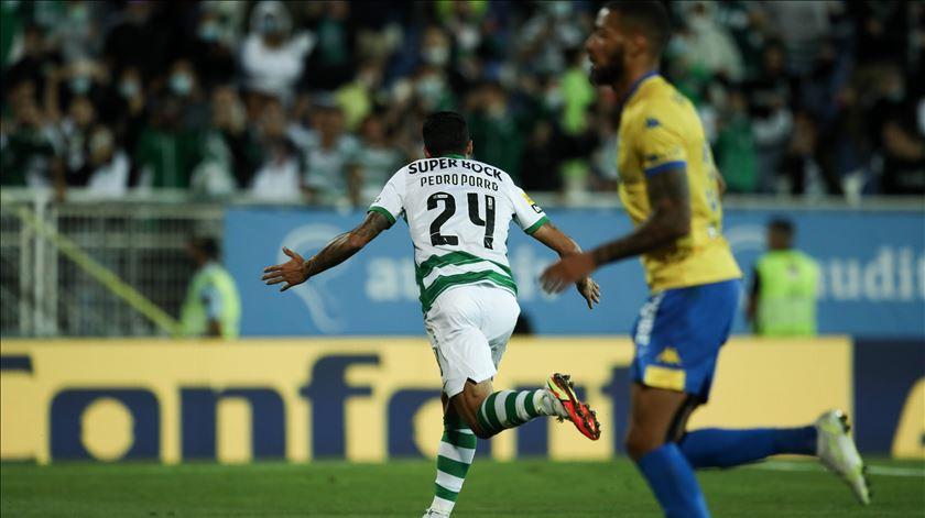 Pedro Porro, Sporting. Foto: Manuel de Almeida/Lusa