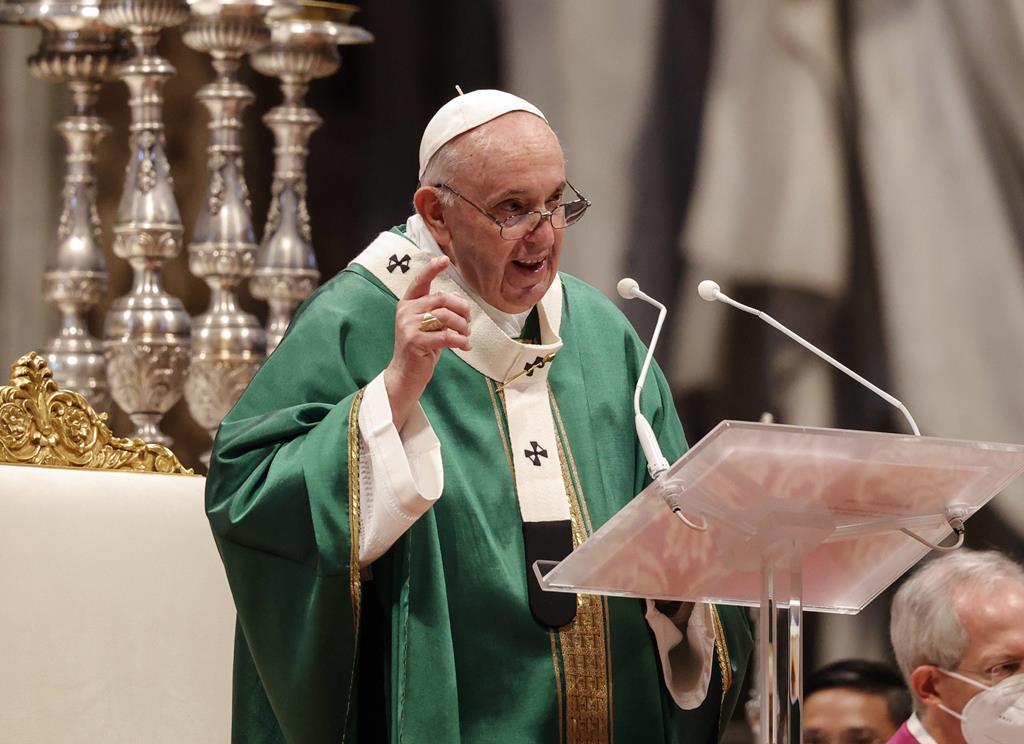 Papa Francisco Foto: Giuseppe Lami/EPA