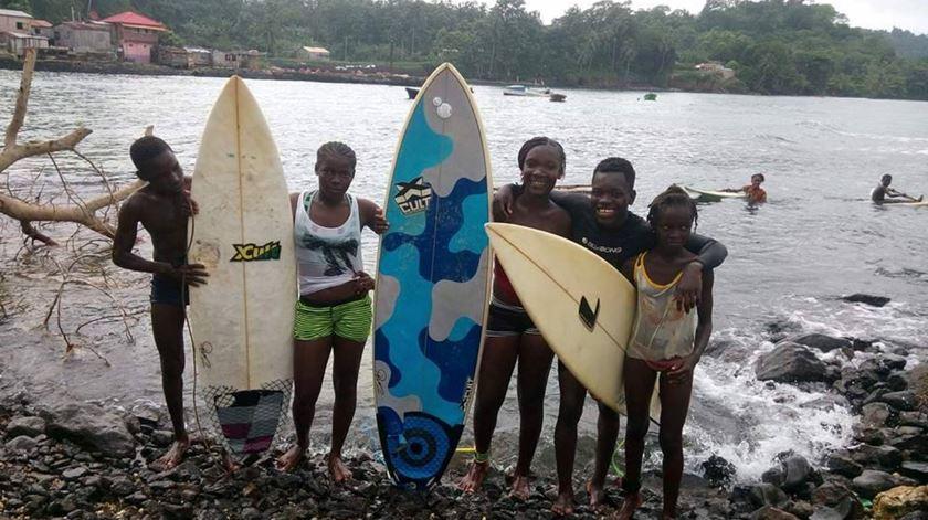 Objectivo passa por incentivar o surf a nível pessoal, mas também a própria região e sociedade de Porto Alegre