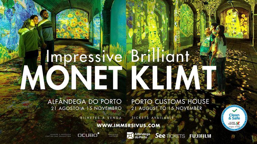 Immersivus Gallery - Impressive Monet & Brilliant Klimt